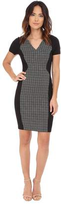 NYDJ Sonya Grid Jacquard Dress Women's Dress