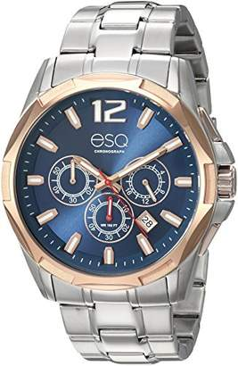 ESQ Men's 'Sport' Quartz Stainless Steel Casual Watch