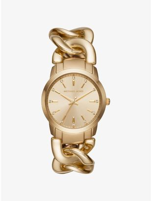 Elena Gold-Tone Watch $250 thestylecure.com