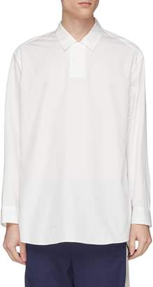 Digawel Two-button placket shirt