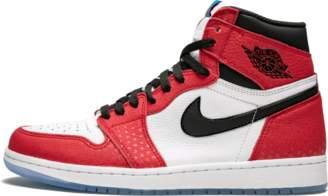 Jordan AIR 1 RETRO HIGH OG 'Spider-Man Origin Story' - Gym Red/Black