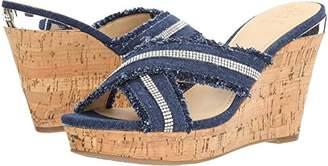 GUESS Women's Evalea Wedge Sandal