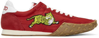 Kenzo Red Move Sneakers
