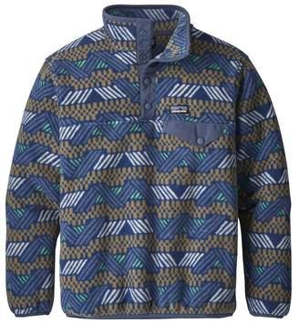 Patagonia Boys' Lightweight Synchilla® Snap-T® Fleece Pullover