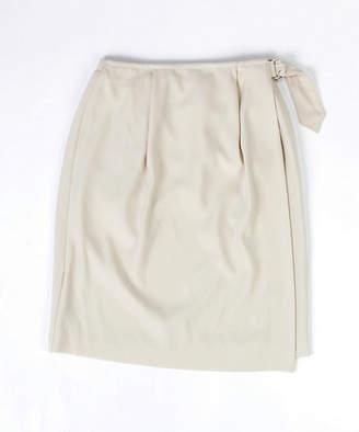 [ブリーズ クロス クローゼット] リブ隠し風巻きスカート