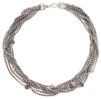 David Yurman Diamond Multistrand Necklace