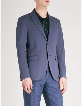 Tiger of Sweden Tailored-fit stretch-cotton jacket