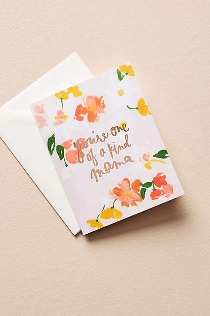 Our Heiday One-of-a-Kind Mother's Day Card
