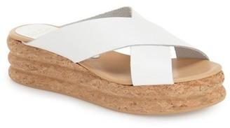Andre Assous Brook Slide Sandal $175 thestylecure.com
