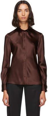 Joseph Brown Silk George Shirt