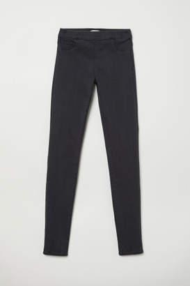 H&M Slim-fit Treggings - Gray