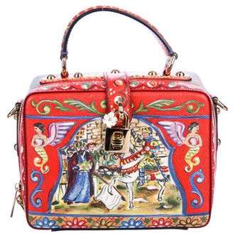 Dolce & Gabbana Carretto Rosaria Bag