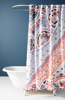 Anthropologie Hamel Shower Curtain