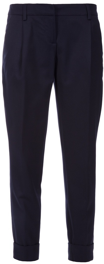 Balmain Pierre cropped tailored trouser