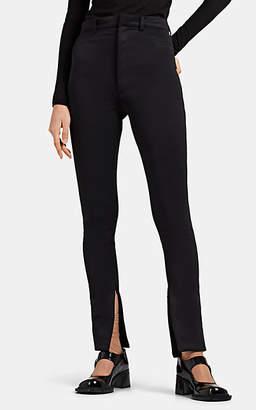 Maison Margiela Women's Neoprene Jersey Skinny Jeans - Black