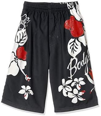 Body Glove (ボディー グローヴ) - [ボディグローブ] Body Glove(ボディグローブ) 男児 サーフパンツ X121-873 X121-873 040 ブラック 日本 160 (日本サイズ160 相当)