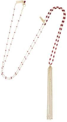 Isabel Marant Beaded Necklace With Fringe