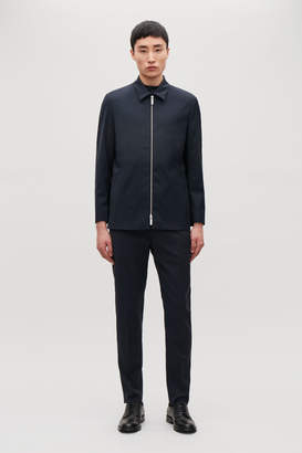 Cos ZIP-FRONT TAILORED JACKET