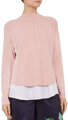 Ted Baker Popilia Layered-Look Sweater