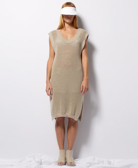Maison Martin Margiela MM6 Chunky Sweater Dress