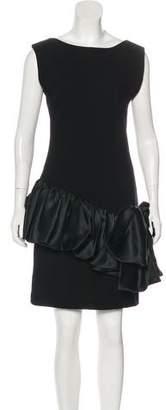 Oscar de la Renta Vintage Bow-Accented Dress