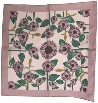 Hermes Pochette silk scarf & pocket square