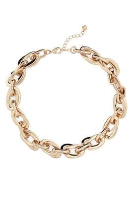 Halogen Double Link Collar Necklace