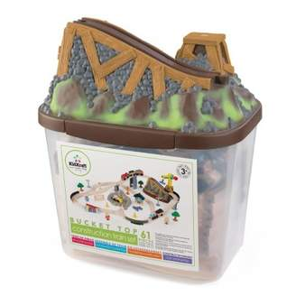 Kid Kraft Sale - Bucket Top Construction Train Set