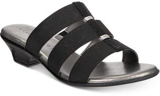 Karen Scott Erinn Slip-On Sandals, Created For Macy's Women's Shoes