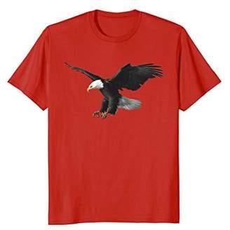 Majestic Flying American Bald Eagle Photo Portrait T-Shirt