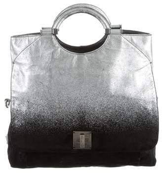Marc Jacobs Ombré Suede & Leather Satchel