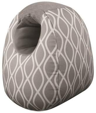 Itzy Ritzy Milk Boss Infant Feeding Support Breastfeeding and Bottle Feeding Pillow - Gray