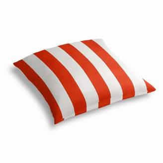 Loom Decor Simple Outdoor Floor Pillow Sunbrella® Cabana - Flame