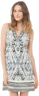 Hale Bob Quinby Sleeveless Jersey Dress Beaded
