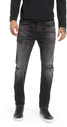 Hudson Jeans Axl Ripped Skinny Fit Jeans