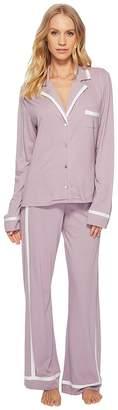 Cosabella Bella Amore Long Sleeve Top Pants PJ Set Women's Pajama Sets