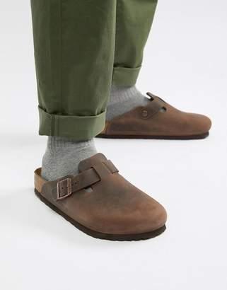 5c957fbafad Birkenstock Leather Shoes For Men - ShopStyle UK
