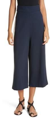Tibi Stretch Knit High Waist Crop Pants
