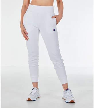 6a6db0727d Champion Women's Reverse Weave Chenille Jogger Sweatpants