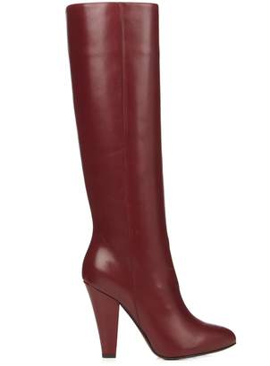 Sonia Rykiel Leather knee-high boots