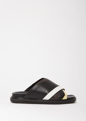 Marni Fussbett Sandal $790 thestylecure.com