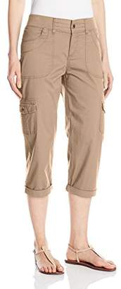 Lee Women's Relaxed-Fit Austyn Knit-Waist Cargo Capri Pant