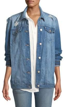 J Brand Cyra Oversized Jacket