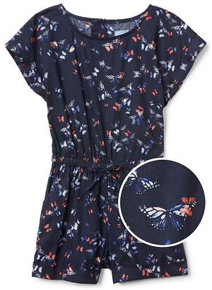 Gap Butterfly Short Sleeve Romper