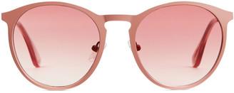Arket Round Metal Sunglasses