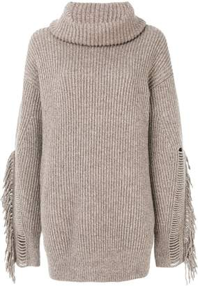 Stella McCartney fringe sleeve sweater