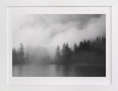 Dark Fog Art Print