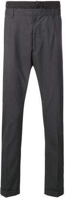 Prada Techno waist detail trousers