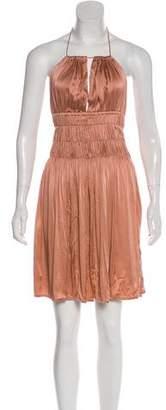 Indah Silk Halter Dress