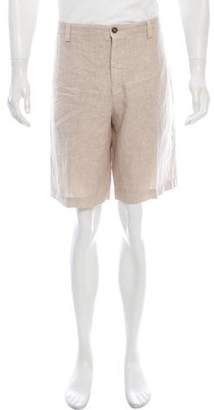 Etro Flat Front Casual Shorts
